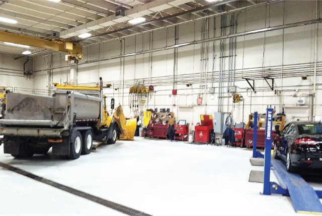 Scott County, Minn., hosts the fleet management software, and its administrator is responsible for onboarding new fleets as well as acting as the point person. Photo courtesy of Scott County