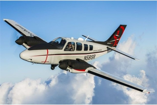 Photo of Beechcraft Baron ISR-A2A courtesy of Beechcraft.