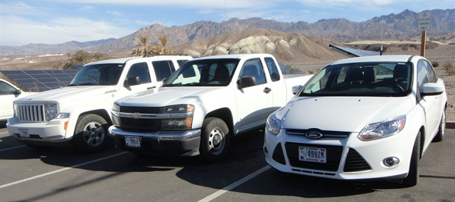 Fleet vehicles have to be maintained more often in Death Valley, Calif., known for extreme heat. Photo courtesy of National Park Service
