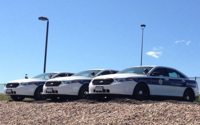 Arapahoe County has specific equipment needs for its sheriff's vehicles, making it costly to buy patrol vehicles off the state contract. These vehicles were purchased off the country's own contracts. Photo courtesy of Arapahoe County.