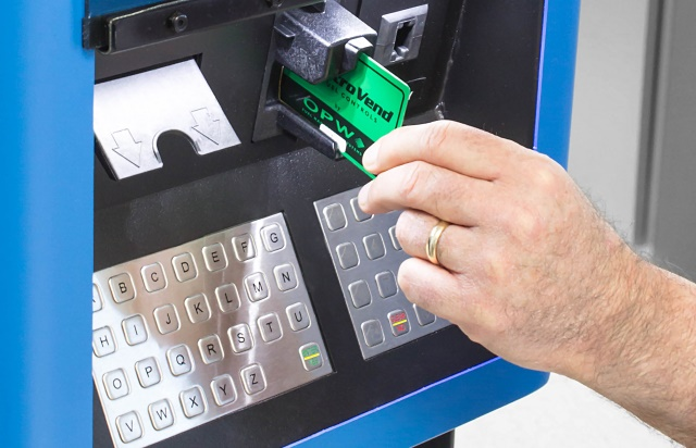 Updating from a traditional key-based cardlock to a system that supports modern activation devices expands a government fuel site's automated authorization and data collection possibilities.