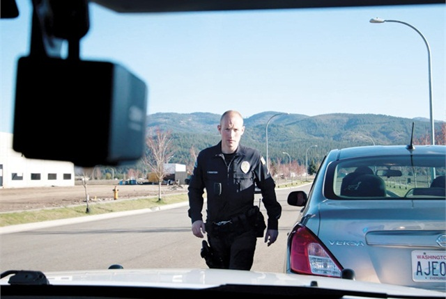 The benefits of in-vehicle camera systems in polcice cars include more reliablity, the ability to view multiple angles, and the ability to see the police officer's actions. Photo courtesy of PoliceMag.com.