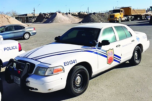 The City of El Paso, Texas, has seen three police models discontinued, including the Ford Crown Victoria. Photo courtesy of City of El Paso