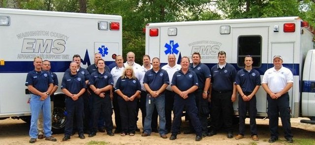The Washington County, Fla., Emergency Medical Services uses telematics on its vehicles to reduce fuel costs and review routes. Photo courtesy of Washington County.