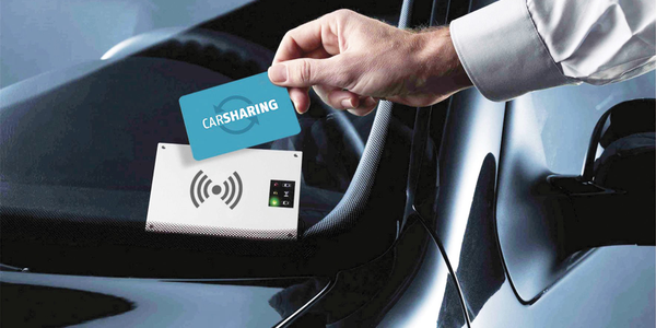 A keyless solution, such as one offered by INVERS, allows drivers to use a card to unlock the...