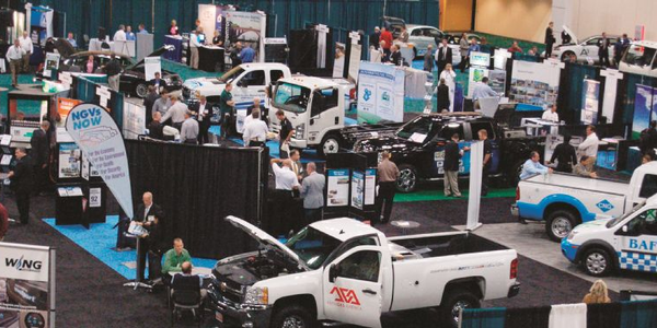The show floor was packed with alternative-fuel vehicles and solutions, allowing fleet managers...