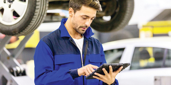 Upgrading to a new fleet management system involves training technicians on how to input data...
