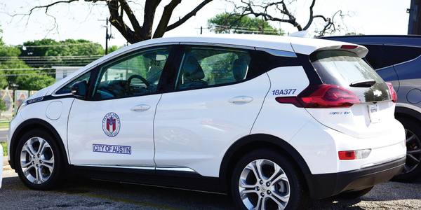More than 80% of the City of Austin's fleet vehicles run on alternative fuels or are...