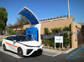 Caltrans purchased its Toyota Mirais in the San Francisco Bay Area, where there is a higher concentration of fueling stations.