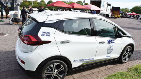 New York City's new vehicles are purchased with automatic braking technology, a change that...