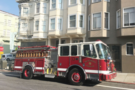 The San Francisco Fire Department's Fire Engines Improve Efficiency
