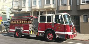 San Francisco's Fire Engines Improve Efficiency