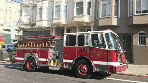 The San Francisco Fire Department's new fire trucks are ­smaller, have a better turning radius,...