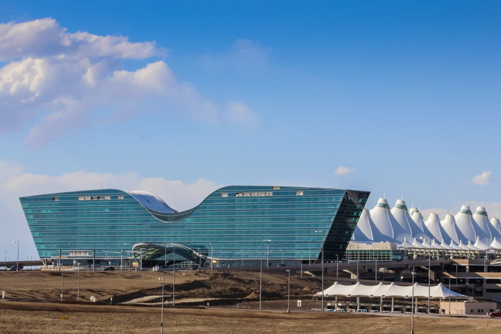 - Photo courtesy of Denver International Airport