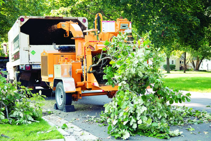 The Bandit 15XPC can be used for handling downed trees and limbs from parks and storm cleanup.