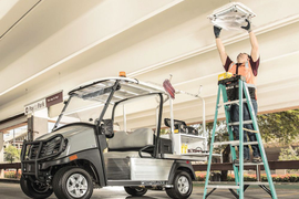 Club Car's Utility Vehicles Fit Specific Tasks
