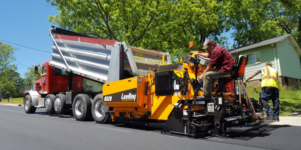 LeeBoy's new asphalt paver features a higher hopper capacity than previous models.