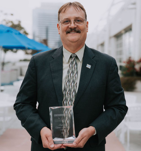 """This probably means more to me than anything that's happened previously because it's voted by you,"" Richard Battersby told the audience at the Honors Celebration during the Government Fleet Expo.