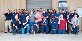 Tulsa Takes Home the No. 1 Leading Fleet Award