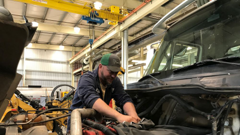 Curt Nodland, a technician with Washington County, Ore., is part of a team of technicians who...