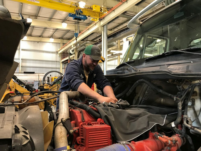 Curt Nodland, a technician with Washington County, Ore., is part of a team of technicians who could soon benefit from a new tiered pay scale that is based on ASE certifications.