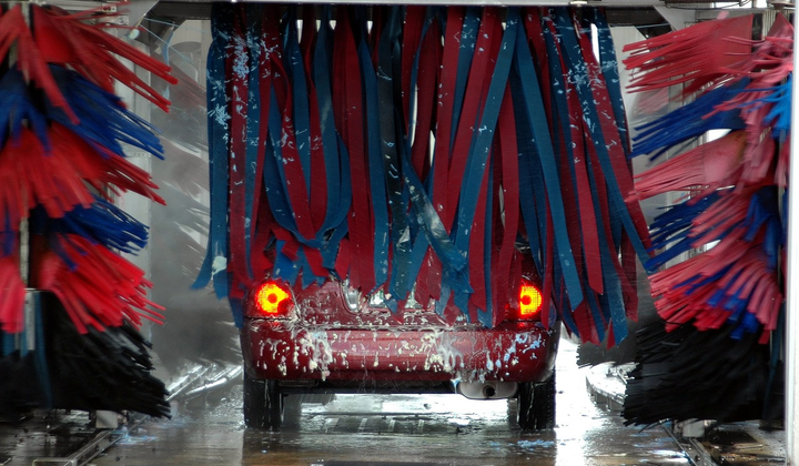 Some fleets get creative when it comes to keeping vehicles clean.  - Photo via Pixabay