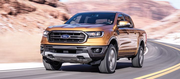 Photo of the 2019 Ford Ranger courtesy of Ford