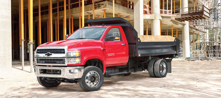 Photo of the 2019 Chevrolet Silverado 6500 courtesy of GM