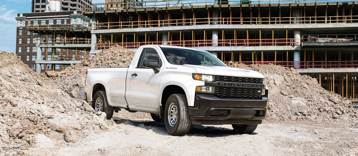 Photo of the 2019 Chevrolet Silverado 1500 courtesy of GM