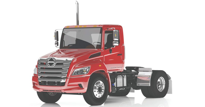 Photo of the 2020 Hino XL Series courtesy of Hino