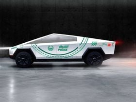 The Future of Police Fleets? Dubai Police Teases Cybertruck for Patrol