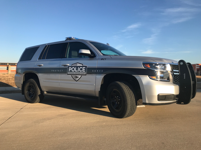 In addition to the general frame and body of the Chevrolet Tahoe, the Tahoe PPV is built to handle high speeds and sudden and frequent stopping.  - Photo byMichaela Kwoka-Coleman.