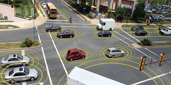 The project will employ advanced wireless communications to enhance vehicle safety by using the...