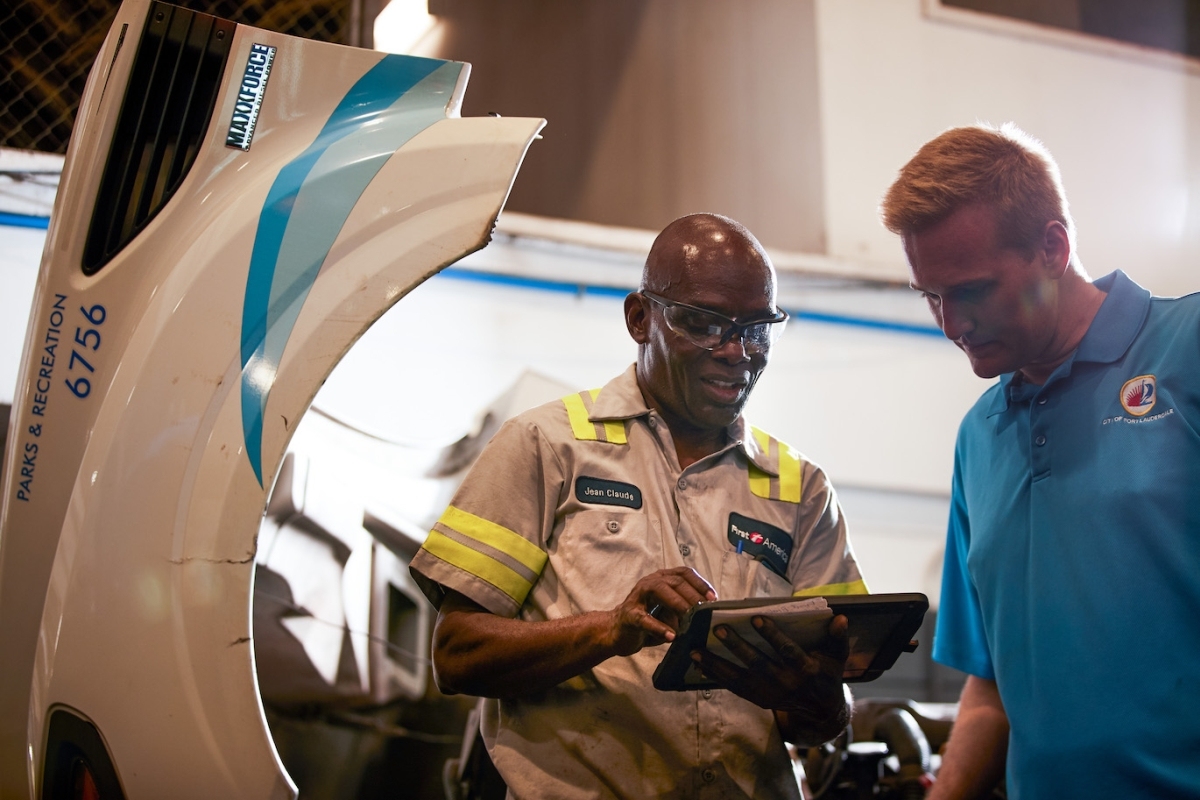 Fla. City Reduces Idle Time by 20% with Telematics