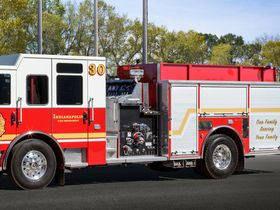 Indianapolis Adds 11 Pierce Fire Trucks