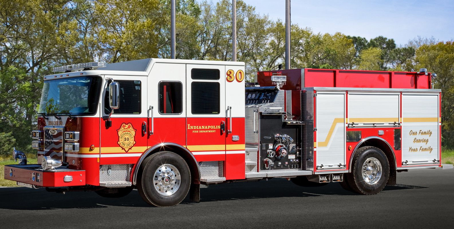Indianapolis Adds 11 Pierce Fire Trucks - Procurement ...