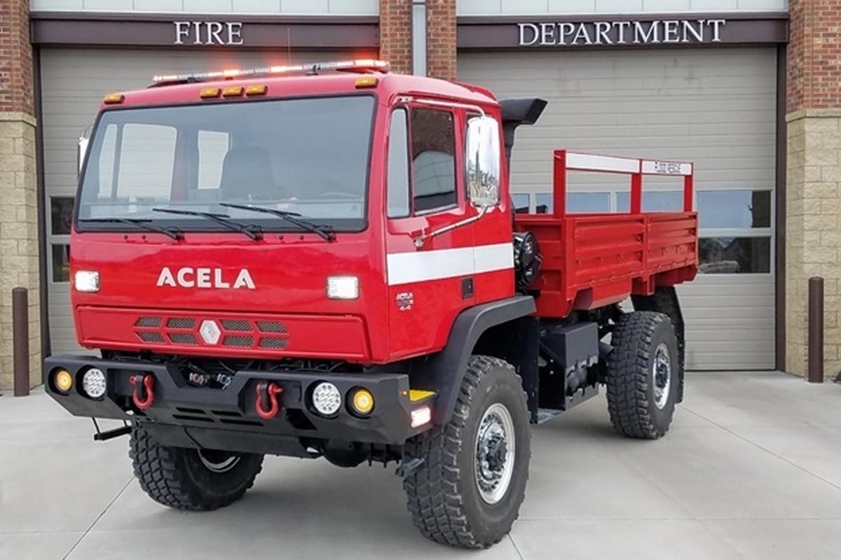 Acela Truck Company Adds GSA Listing
