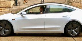 Pa. Sheriff Test Drives a Tesla