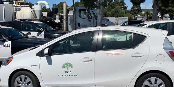 Oakland added SmartPedal to its parking enforcement fleet of Pricus Cs.