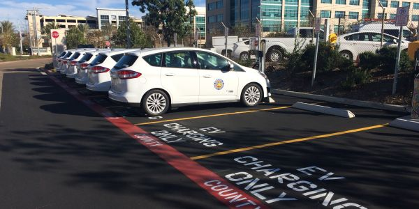 San Diego County already has 40 electric vehicles in its fleet, with 10 more on order.