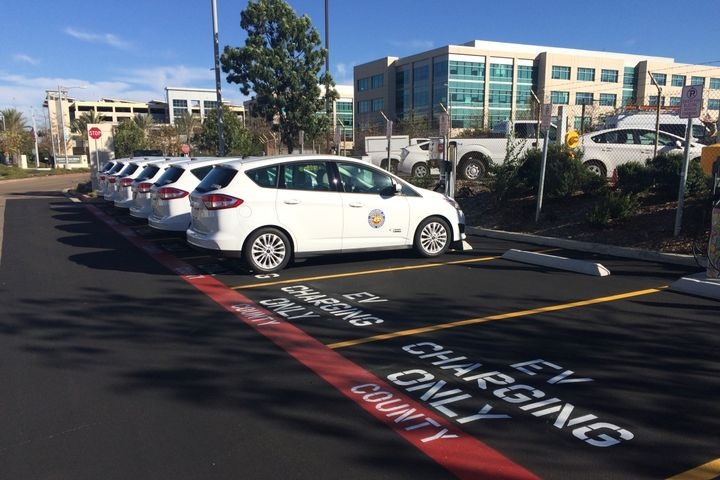 San Diego County already has 40 electric vehicles in its fleet, with 10 more on order. - Photo courtesy of San Diego County