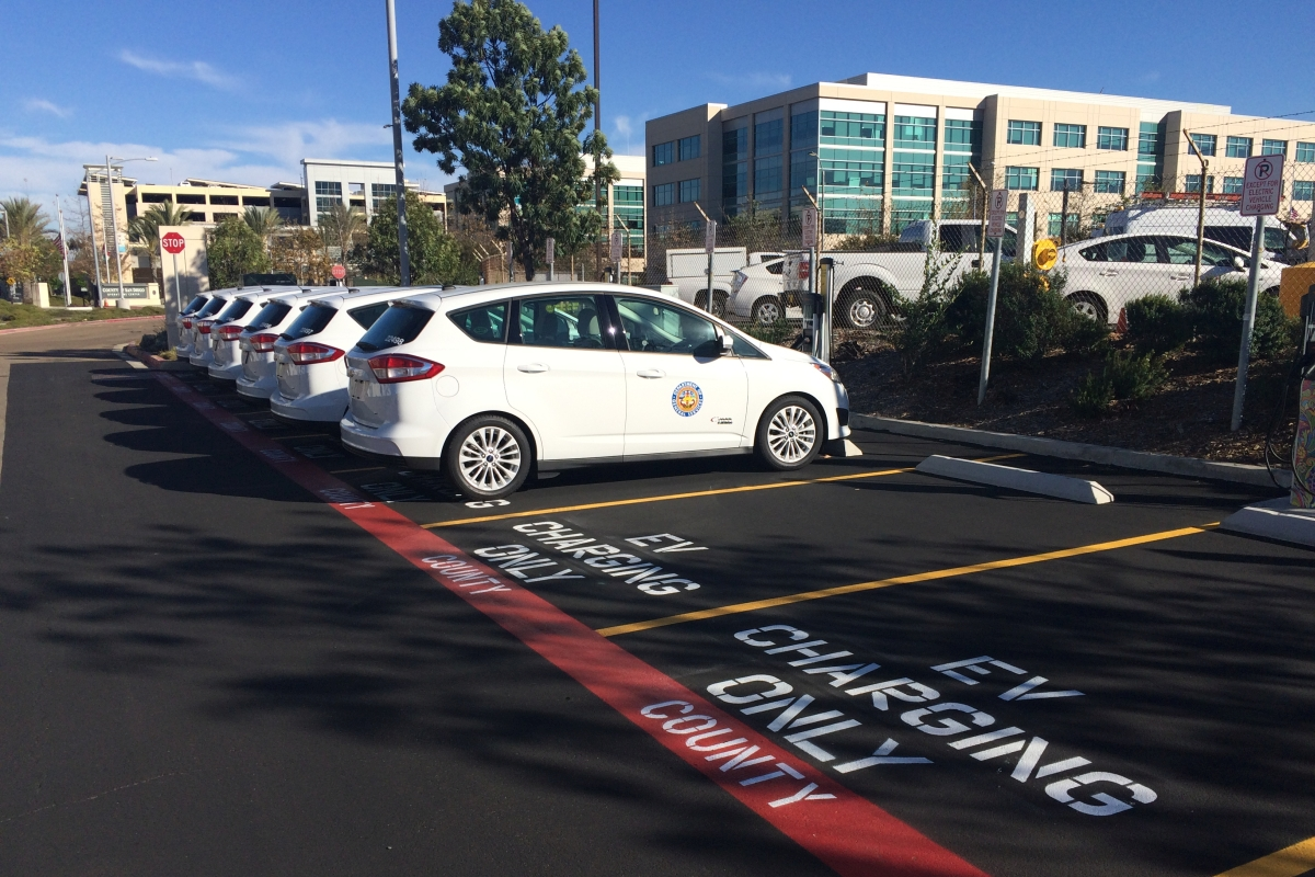 San Diego County to Convert 10% of Fleet to EVs