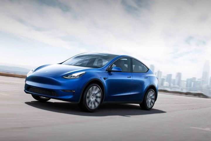 If the Model 3 sedan test drive is successful, the agency will consider purchasing Model Y SUVs (pictured). - Photo courtesy of Tesla