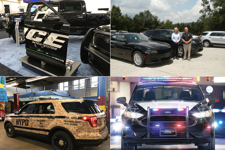 - Photos courtesy of (clockwise from top left) DEW Engineering, Missouri State Highway Patrol, Ford, and NYPD.
