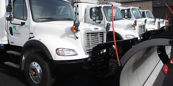 The City of Dublin has a total of 22 snowplows and just took delivery of four new ones powered...