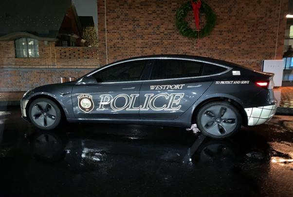 Connecticut Town Buys a 2020 Tesla Model 3 Squad Car