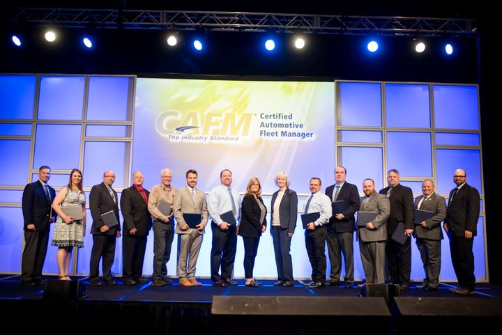 The 2018/2019 CAFM graudates are pictured here at the NAFA I&E in April. - Photo courtesy of NAFA