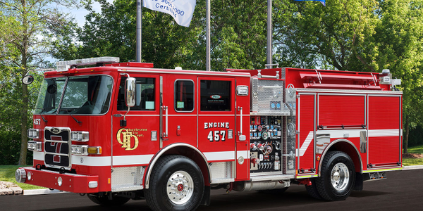 The Charleston Fire Department added two pumper trucks.