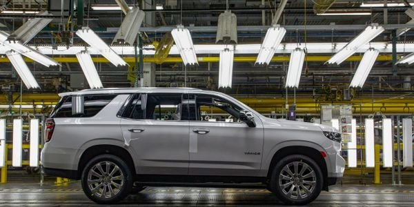 GM's Arlington, Texas plant produces the Chevrolet Tahoe.