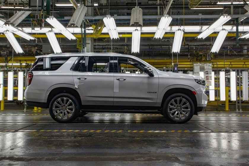 GM's Arlington, Texas plant produces the Chevrolet Tahoe.